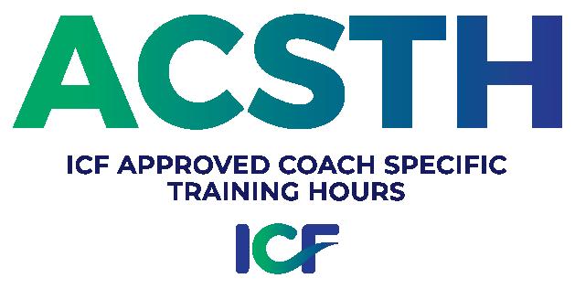 ICF ACSTH Coach Certification Logo