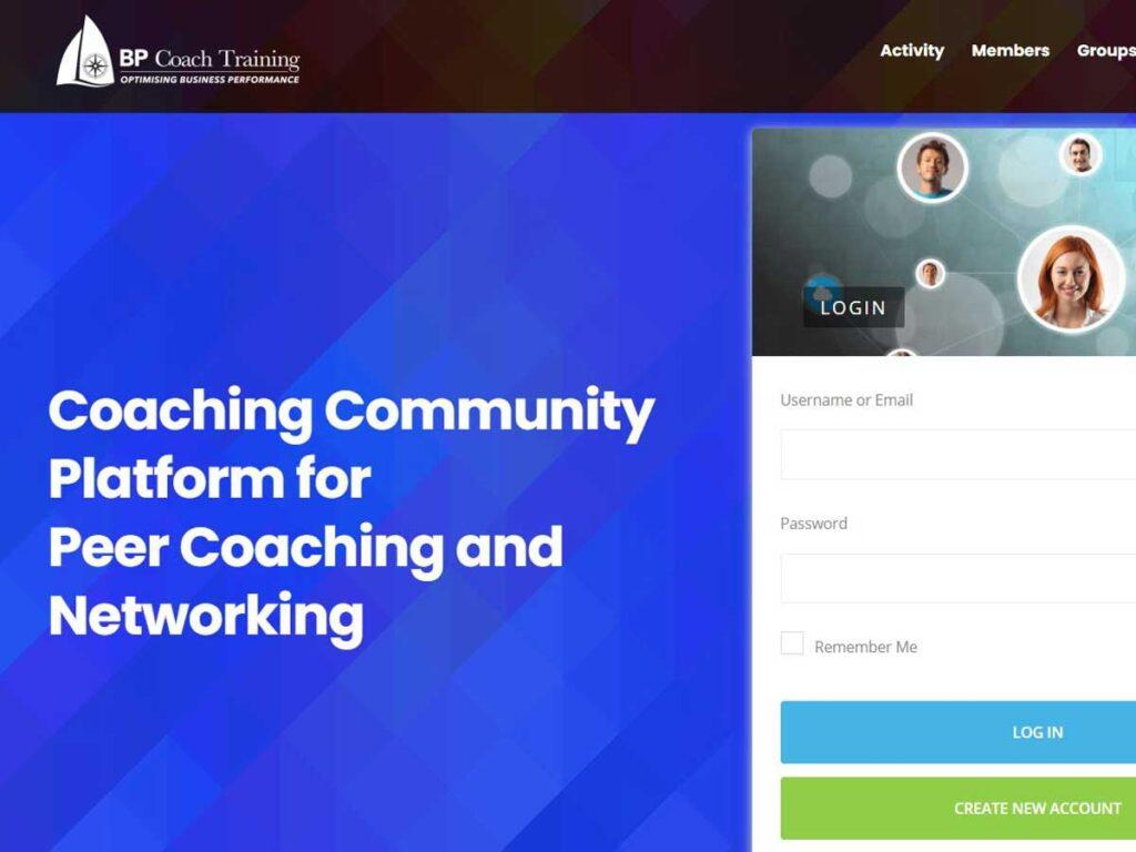Coaching Community Platform - Community of Practice