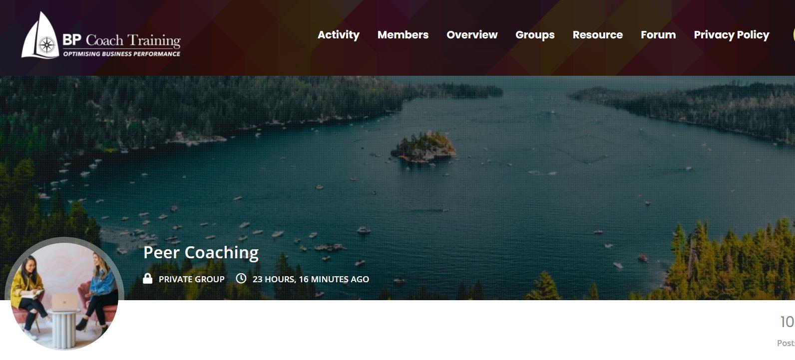 Peer Coaching Community Platform